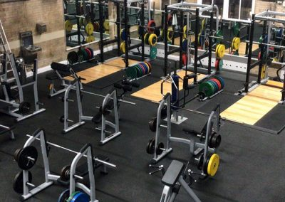 Jubille Hall gym equipment