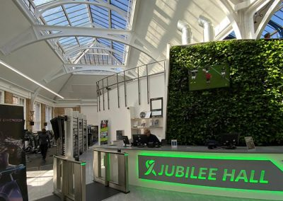 Jubille Hall reception area