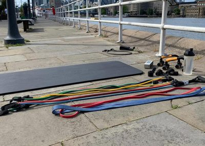 Outdoor training equipment