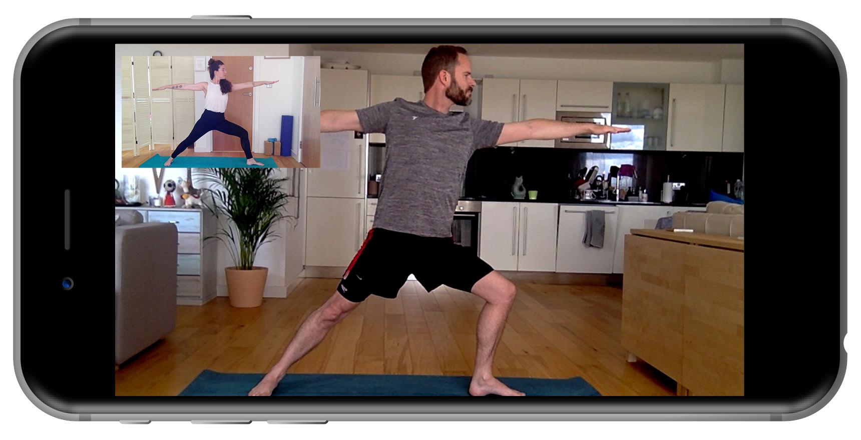 Virtual Yoga Session